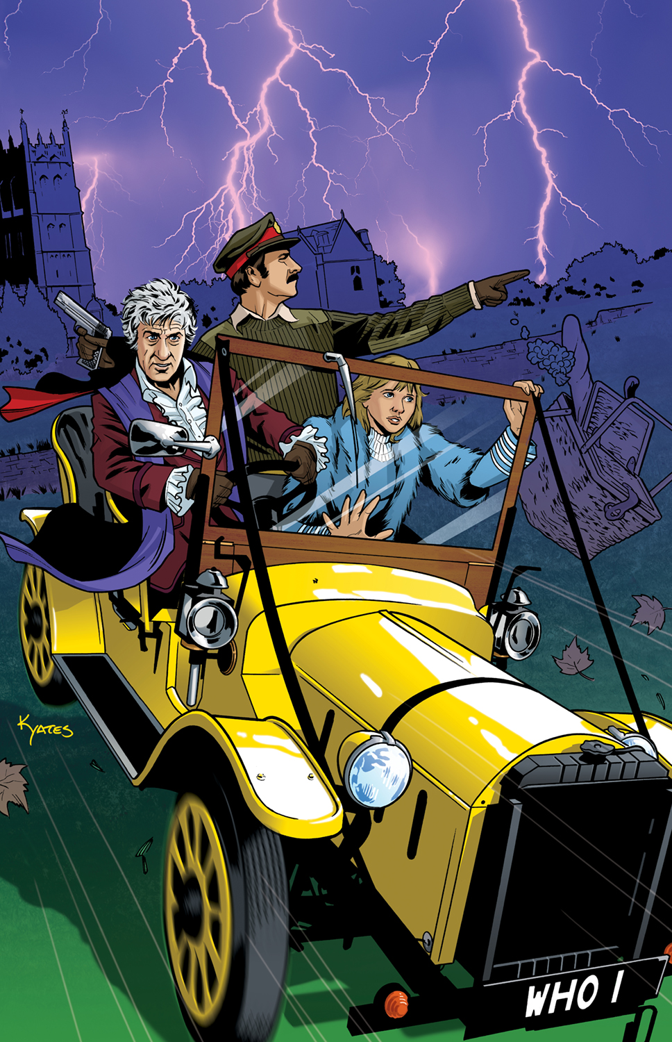 3rd Doctor Cover