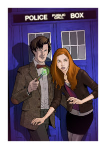 11th Doctor & Amy Pond