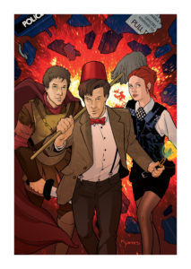 11th Doctor-Explosion