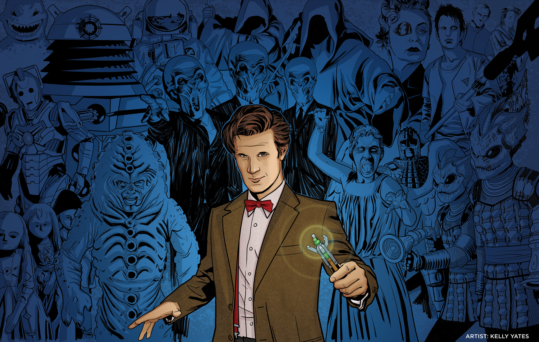 11th Doctor_Villains